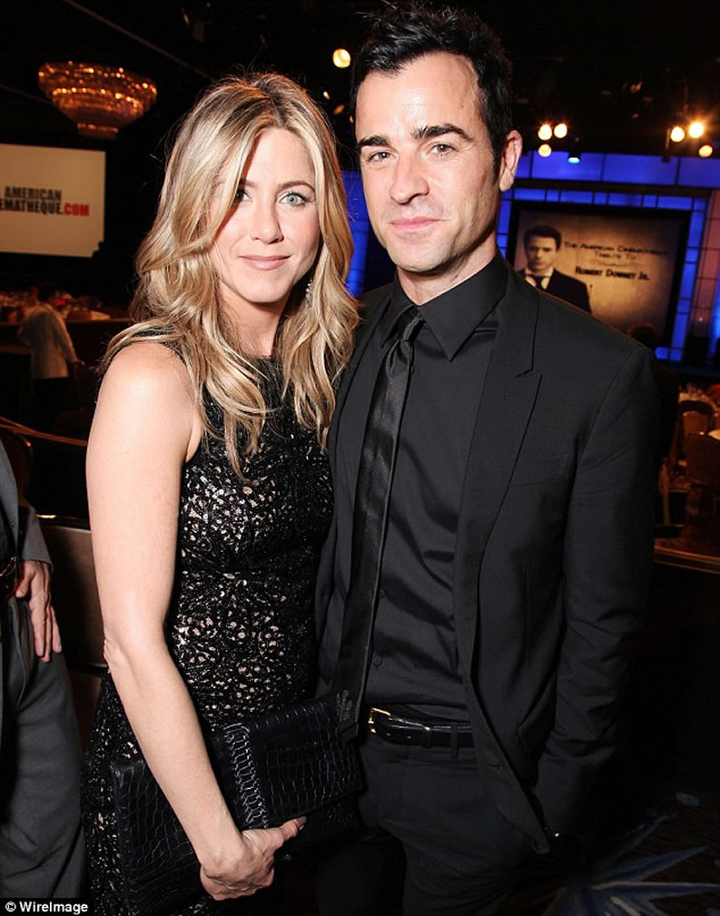Justin Theroux & Jennifer Aniston CINEMATHEQUE 2011